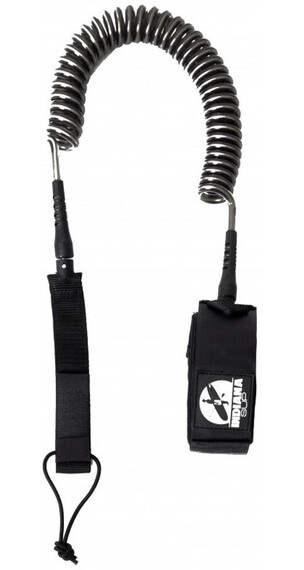 Indiana SUP Coil Leash zwart
